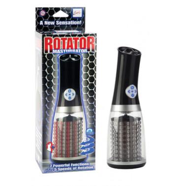Мастурбатор с ротацией Rotator Masturbator черный
