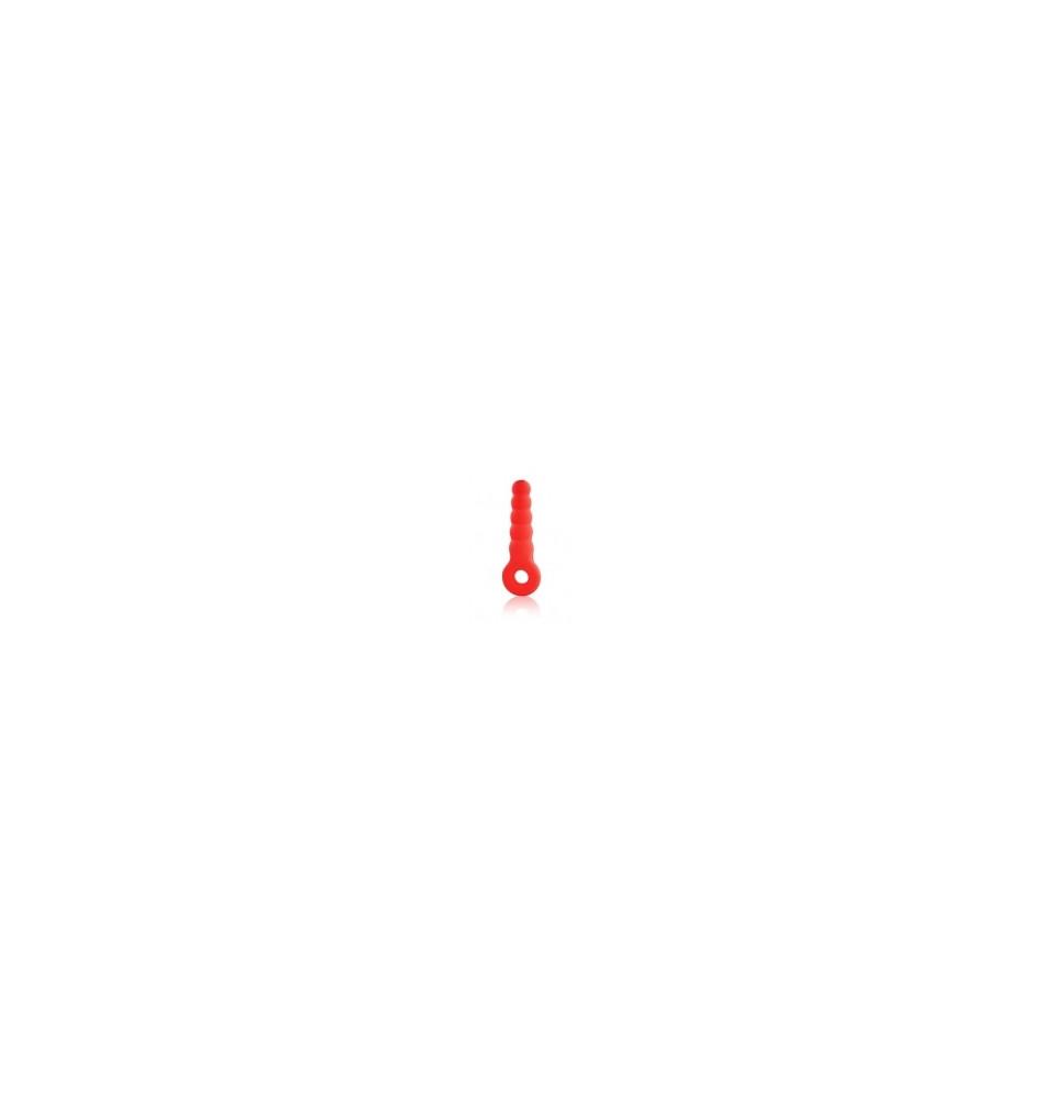 ЕЕ-10111-3 Стимулятор силикон цвет красный