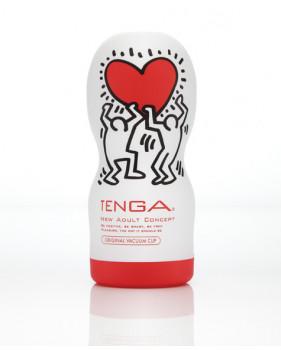 TENGA&Keith Haring Мастурбатор Deep Throat