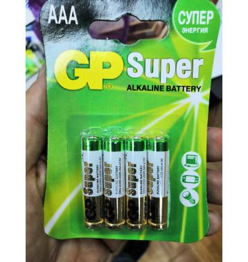 Батарейка ААА (алкалин) в блистере по 4 шт.