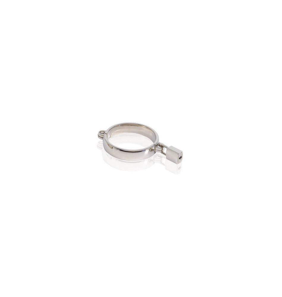 Кольцо эрекционное METAL WORX из металла, размер XL