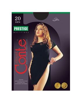 Колготки Conte Prestige 20 den, р.5 бронз