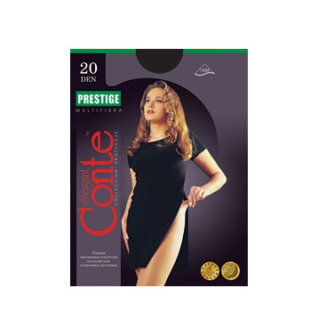 Колготки Conte Prestige 20 den, р.4 черный