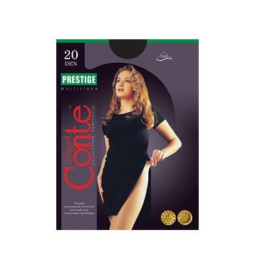 Колготки Conte Prestige 20 den, р.5 черный