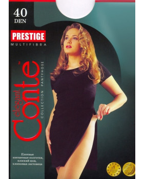 Колготки Conte Prestige 40 den, р.4 бронз