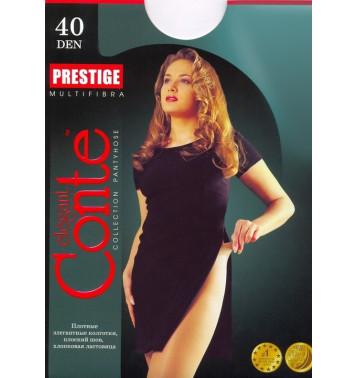 Колготки Conte Prestige 40 den, р.5 бронз