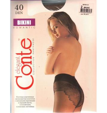 Колготки Conte Bikini 40 den, р.4 бронз