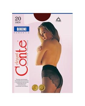 Колготки Conte Bikini 20 den, р.2 натур.