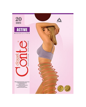 Колготки Conte Active 20 den, р.2 натур.