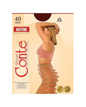 Колготки Conte Active 40 den, р.4 бронз