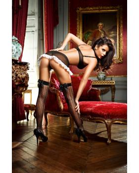 Чулки Privat French Maid высокие черные (42-46)