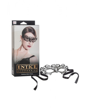 Маска черная Entice Mystique Mask - Black