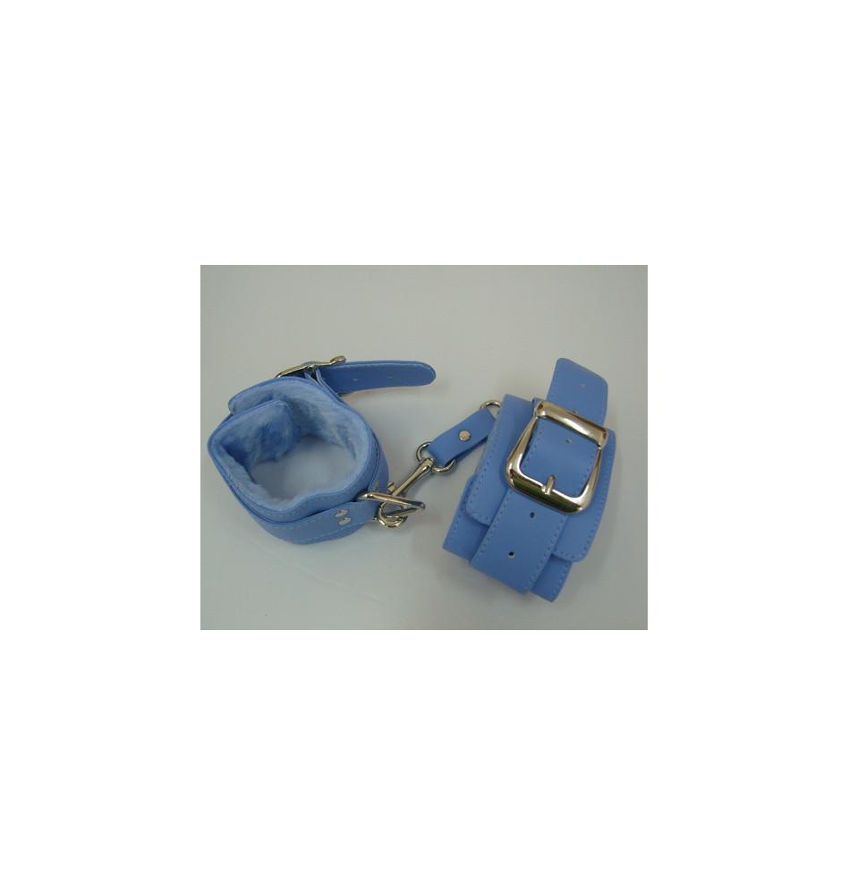 5010-5 Наручники голубого цвета
