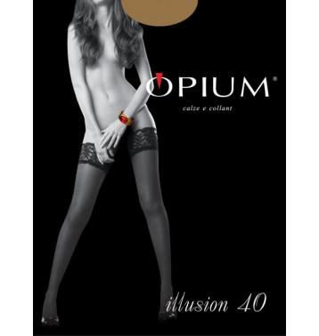 Чулки Illusion 20 Opium bianco 3