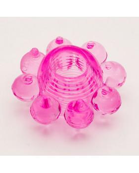 Эрекционное кольцо розовое