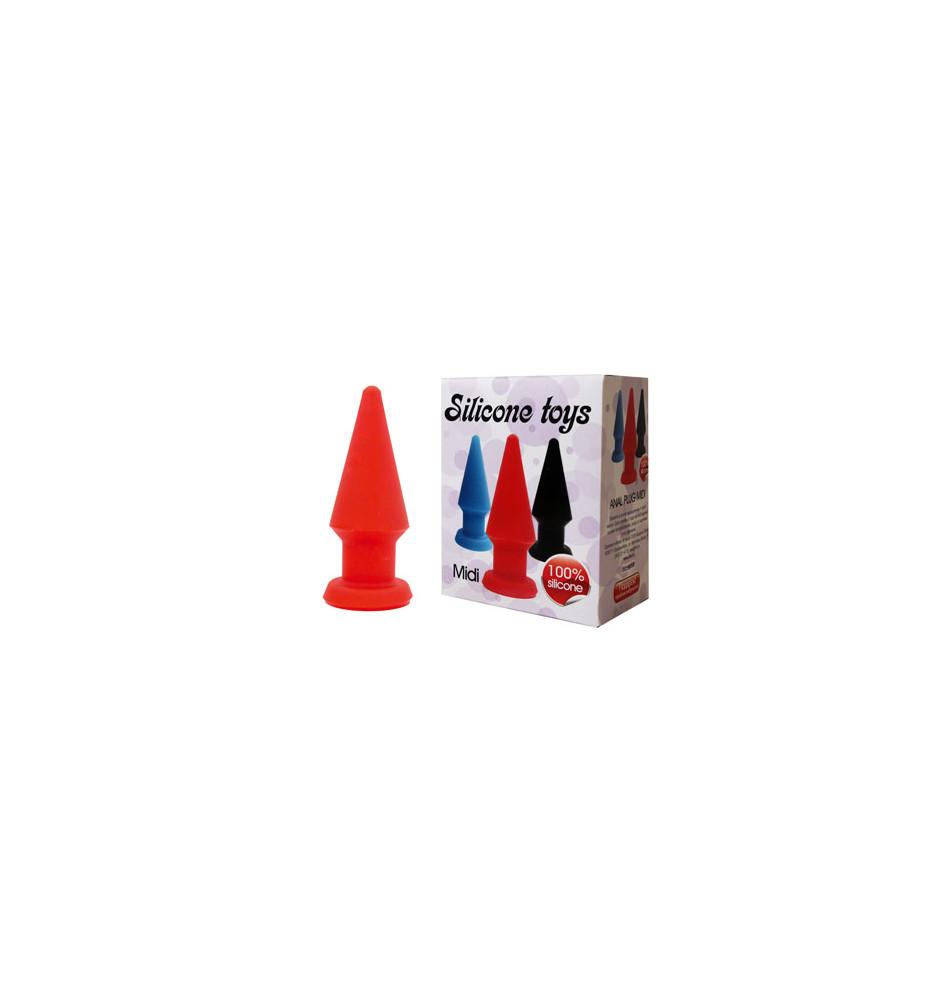Анальная втулка красная ST-40108-3
