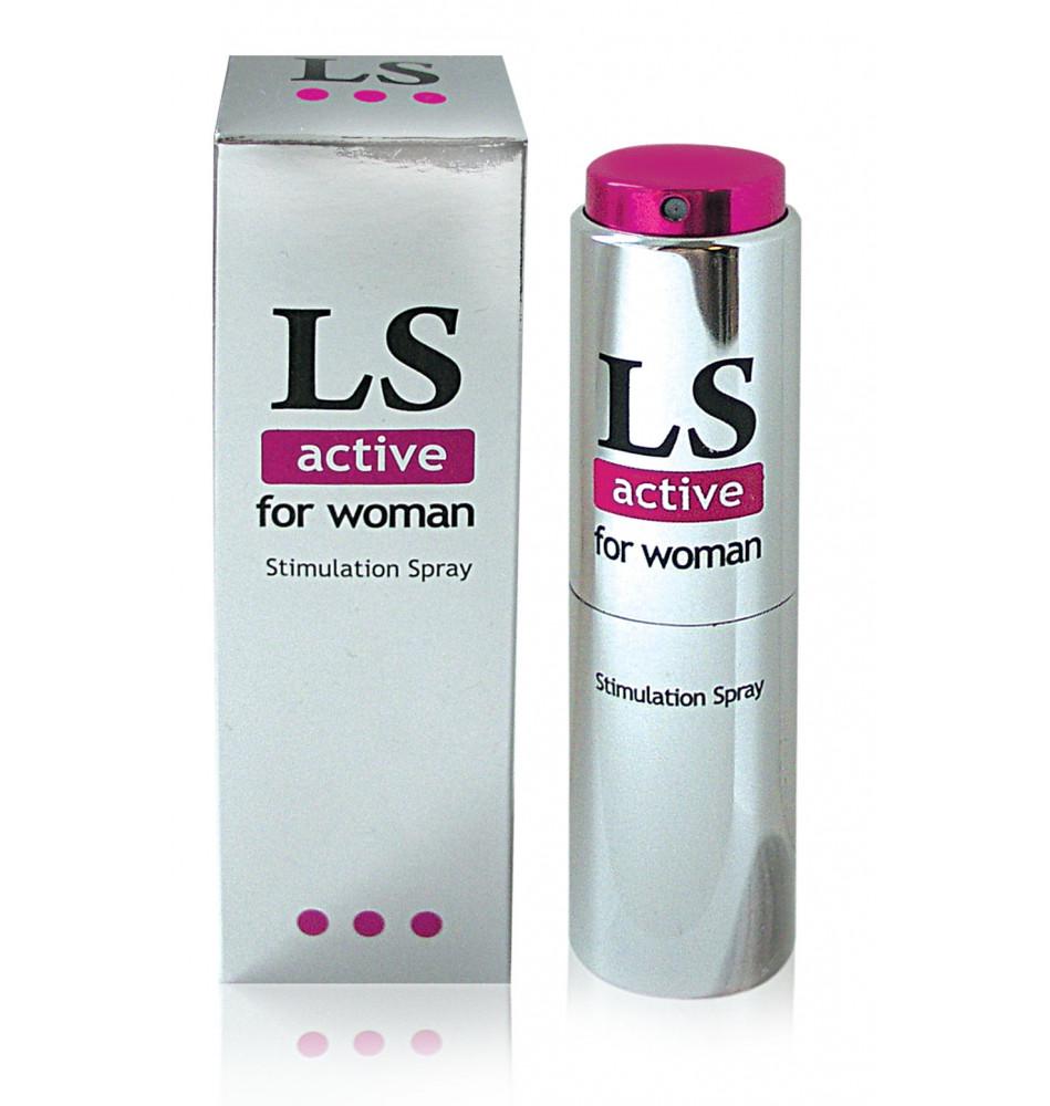 Спрей для женщин возбуждающий LOVESPRAY ACTIVE 18мл