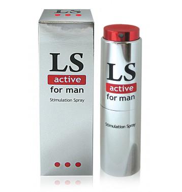 Спрей для мужчин возбуждающий LOVESPRAY ACTIVE 18мл
