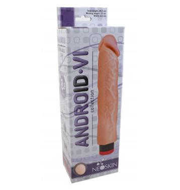 Вибратор-реалистик ANDROID LONG