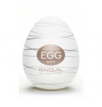 TENGA Egg Мастурбатор яйцо Silky