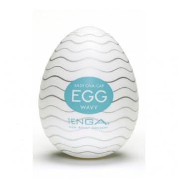 TENGA Egg Мастурбатор яйцо Wavy