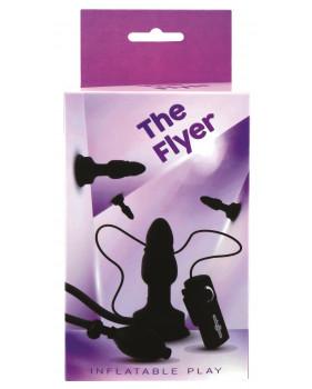 Анальная пробка THE FLYER с расширением и вибрацией
