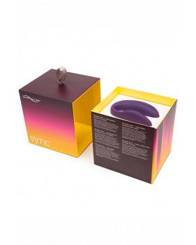 Электровибромассажер We-Vibe Sync Purple