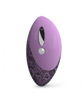 WOMANIZER W500 Pro Lavender пыльная роза стимулятор клитора с двумя заменяемыми насадками частично водонепронецаемый