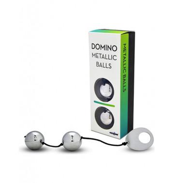 Вагинальные шарики DOMINO METALLIC BALLS металлические