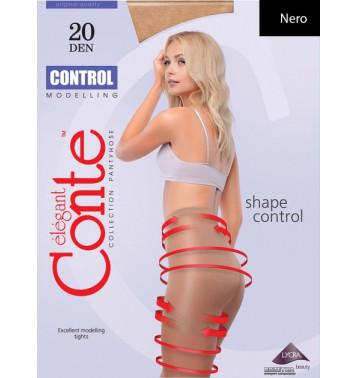 Колготки Conte Control 20 Den 2 р Nero