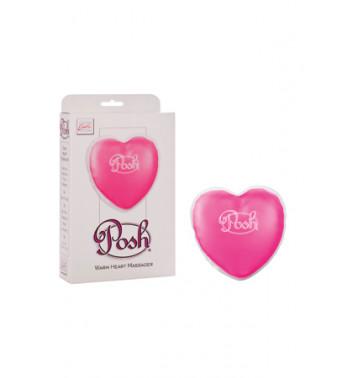 Согревающий массажер в форме сердца POSH WARMING HEART MASSAGR розовый