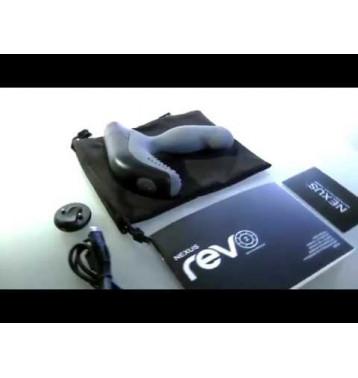 NEXUS REVO 2 серый Вибромассажер простаты с вращающейся головкой