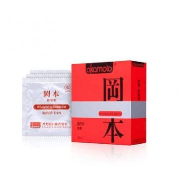 Презервативы Okamoto Skinless Skin Super ультратонкие 3 шт