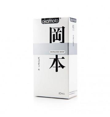 Презервативы Okamoto «Skinless Skin Purity», упаковка 10 штук