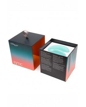 Wv Sync-Aqua Электровибромассажер We-Vibe Sync Aqua-Голубой, на радиоуправлении
