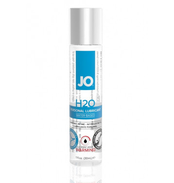 Возбуждающий любрикант на водной основе JO Personal Lubricant H2O Warming, 1 oz (30мл.)