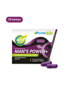 Средство возбуждающее Man'sPower plus 10 капсул