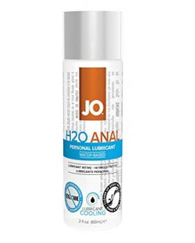 Анальный охлаждающий любрикант обезболивающий на водной основе JO Anal H2O COOL, 2.5 oz (60 мл)