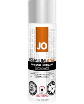 Анальный согревающий любрикант обезболивающий на силиконовой основе JO Anal Premium Warming, (60 мл)