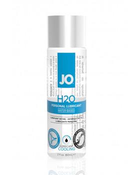 Охлаждающий любрикант на водной основе JO Personal Lubricant H2O COOL, 2.5 oz (60 мл)