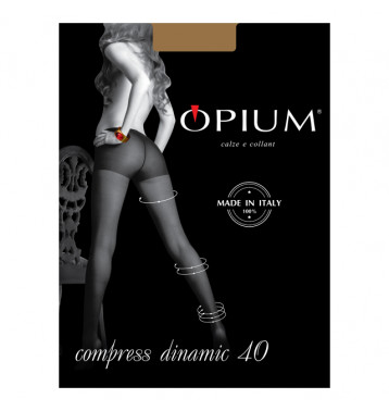 Колготки Opium Compress Dinamic nero 5