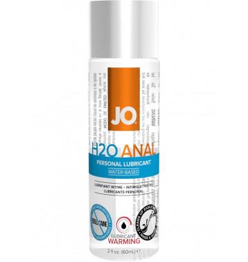 Анальный согревающий любрикант обезболивающий на водной основе JO Anal H2O Warming, 2.5 oz (60 мл)