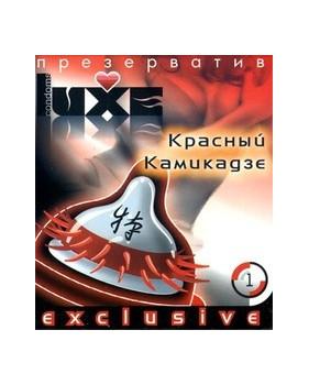 Презерватив LUXE Красный камикадзе