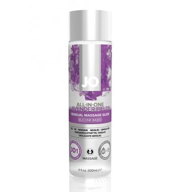 Массажный гель-лубрикант на силиконовой основе ALL-IN-ONE Massage Glide Lavender с ароматом лаванды