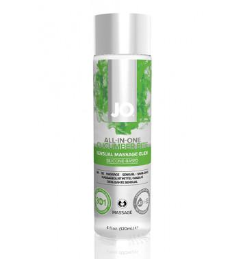 Массажный гель-лубрикант на силиконовой основе ALL-IN-ONE Massage Glide Cucumber с ароматом огурца