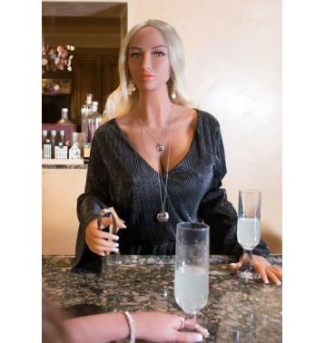 Реалистичная кукла блондинка Kitty Pipedream Extreme Toyz Ultimate Fantasy Dolls Kitty