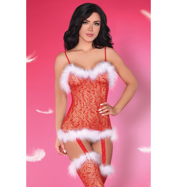 """топ и чулочки  """"Catriona Christmas"""""""