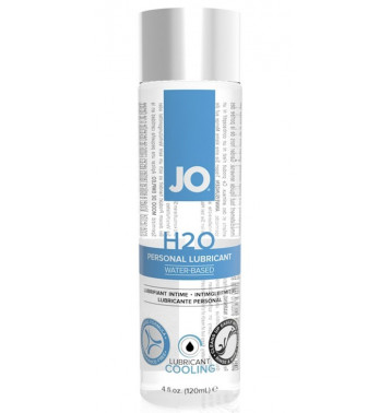 Охлаждающий любрикант на водной основе JO Personal Lubricant H2O COOL, 4.5 oz (120 мл)
