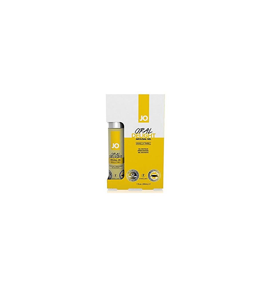 Лубрикант для оральных ласк Oral Delight - Vanilla Thrill ванильный 30 мл