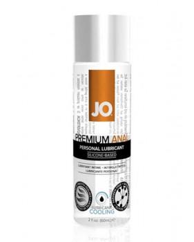 Анальный охлаждающий любрикант обезболивающий на силиконовой основе JO Anal Premium COOL, (60 мл)